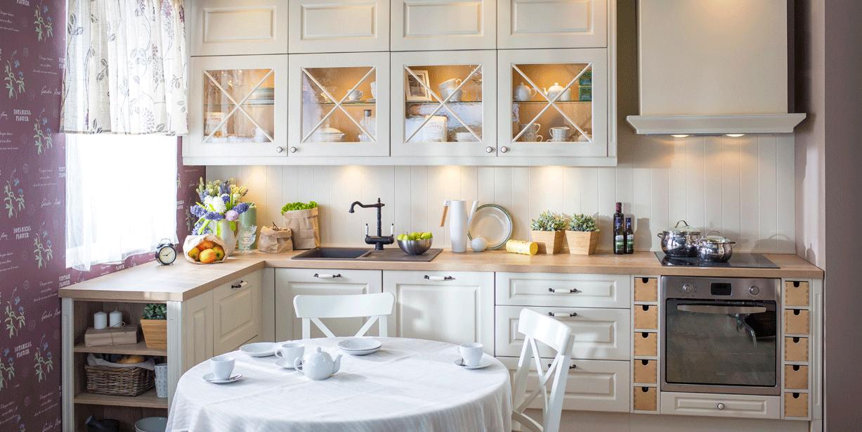 фото кухня городская классика